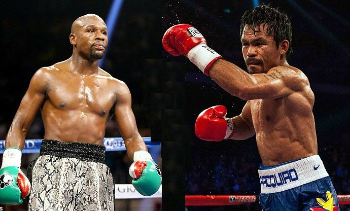 Floyd Mayweather Jr. VS Manny Pacquiao - Its official? - YouTube