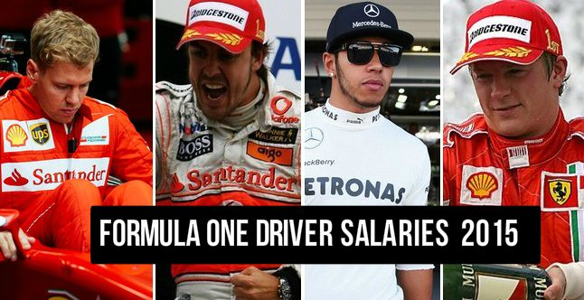In 2015 1 Salaries (Revealed) Formula Driver