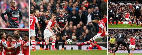 Liverpool Vs Bournemouth Totalsportek: Arsenal 4-1 Liverpool 2015 Highlights Extended Motd Video