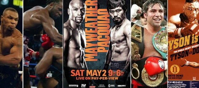 highest pay per view boxing