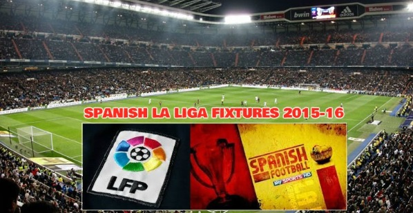 spanish la liga league fixtures