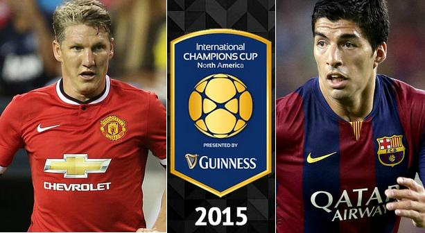 Manchester United vs Barcelona Highlights 2015 friendly